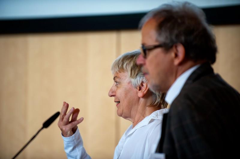 Gisela Volck, Allgemeinärztin aus Frankfurt und AIM-Vorstandsmitglied.