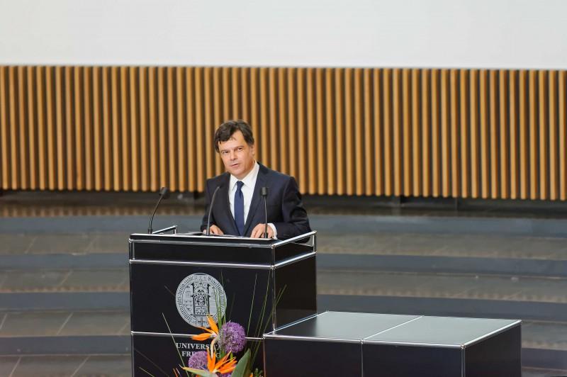 """Prof. Dr. Giovanni Maio aus Freibrg, hier auf der Tagung """"Die Kunst des Hoffens"""" im Jahr 2014."""