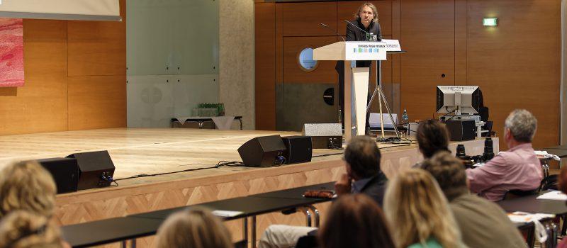 Christian Schubert auf der PNI-Tagung in Innsbruck.