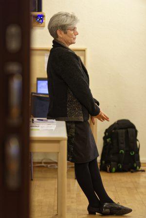 Miriam Haagen, Therapeutin aus Hamburg und Vorstandsmitglied der AIM, führte am Freitag durch die Veranstaltung.